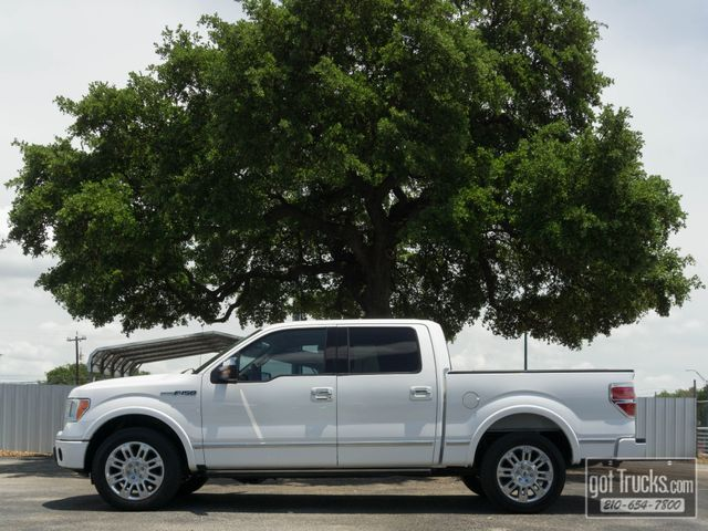2010 Ford F150 Crew Cab Platinum 5.4L V8