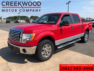 2010 Ford F-150 XLT 4x4 Red 5.4L Crew Cab Low Miles Cloth Clean in Searcy, AR 72143