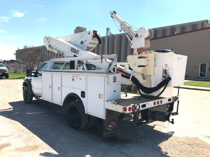 2010 Ford F550 BUCKET TRUCK    city TX  North Texas Equipment  in Fort Worth, TX