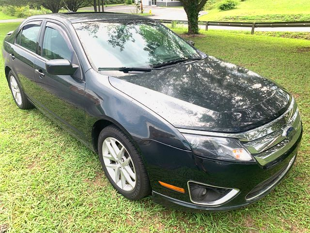 2010 Ford-31 Mpg! $5595! Bhph! Fusion-EXT WARRANTY SEL-BLK ON BLK MINT