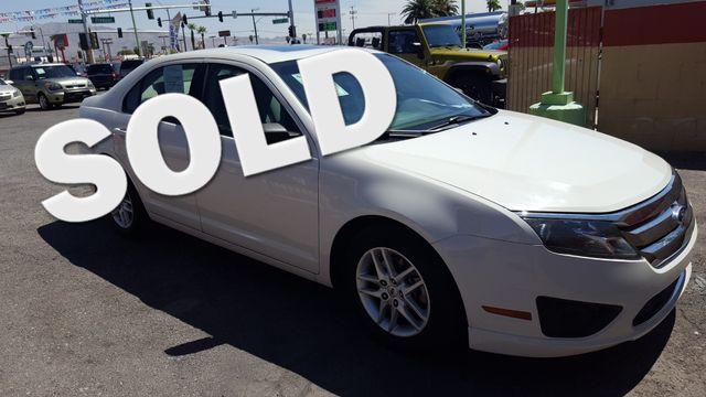 2010 Ford Fusion S AUTOWORLD (702) 452-8488 Las Vegas, Nevada