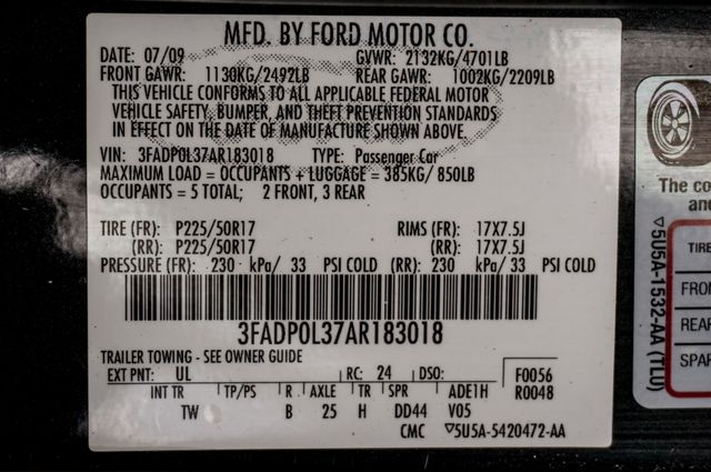 2010 Ford Fusion Hybrid Reseda, CA 37