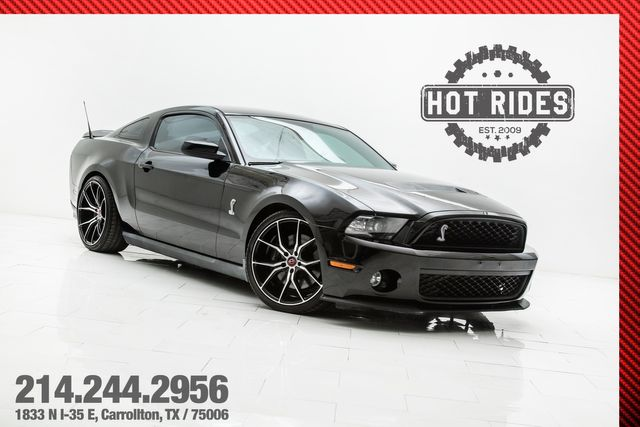 2010 Ford Mustang GT500 With Many Upgrades