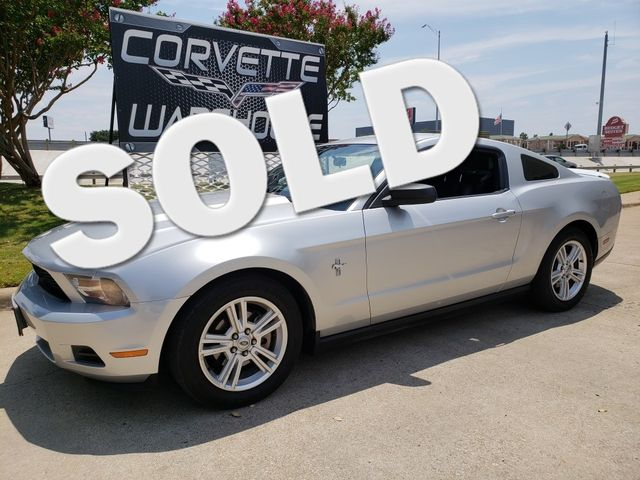 2010 Ford Mustang V6 Coupe Auto, CD Player, Alloy Wheels 104k! | Dallas, Texas | Corvette Warehouse  in Dallas Texas