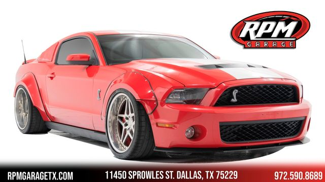 2010 Ford Mustang Shelby GT500 Widebody with Many Upgrades