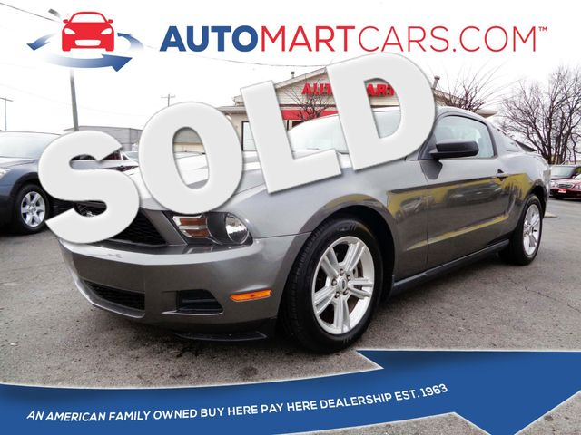 2010 Ford Mustang V6   Nashville, Tennessee   Auto Mart Used Cars Inc. in Nashville Tennessee