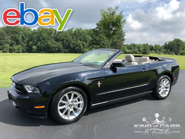 2010 Ford Mustang Premium CONVERTIBLE V6 98K MILES CLEAN CARFAX MINT