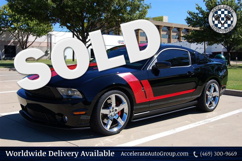 2010 Ford Mustang 1 of 1 STAGE 3 ROUSH  in Rowlett Texas