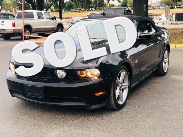 2010 Ford Mustang GT Premium Convertible in San Antonio, TX 78233