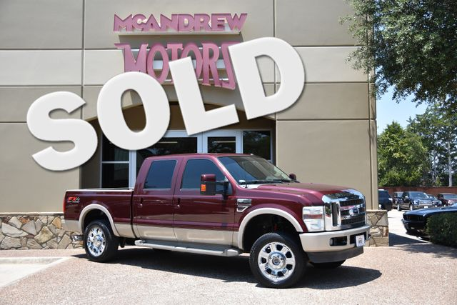 2010 Ford F-250 Crew Cab 4X4 King Ranch
