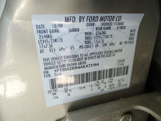 2010 Ford Super Duty F-250 SRW XLT Corpus Christi, Texas 40