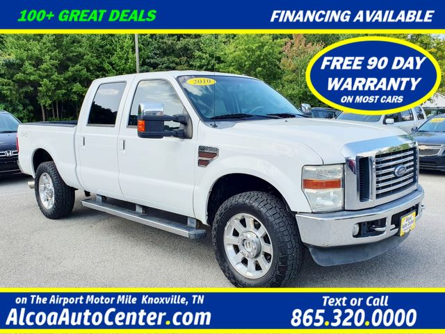 "2010 Ford Super Duty F-250 SRW Lariat 6.4L TDSL 4X4 Leather/Heated Seats/20"" in Louisville, TN 37777"