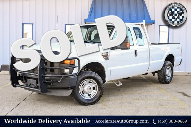 2010 Ford Super Duty F-250 SRW XL 4X4 DIESEL AUTO TRANS TOWING PACKAGE UPGRADES in Rowlett