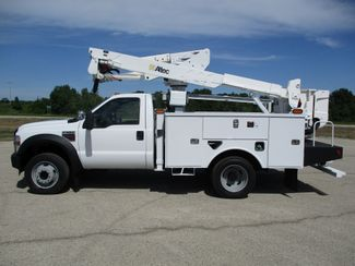 2010 Ford F550 4X4 ALTEC AT37G BUCKET BOOM TRUCK 42FT WORKING HEIGHT Lake In The Hills, IL 1