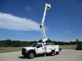 2010 Ford F550 4X4 ALTEC AT37G BUCKET BOOM TRUCK 42FT WORKING HEIGHT Lake In The Hills, IL 28