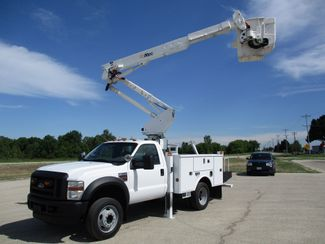 2010 Ford F550 4X4 ALTEC AT37G BUCKET BOOM TRUCK 42FT WORKING HEIGHT Lake In The Hills, IL 33