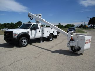 2010 Ford F550 4X4 ALTEC AT37G BUCKET BOOM TRUCK 42FT WORKING HEIGHT Lake In The Hills, IL 34