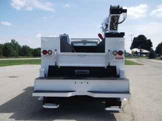 2010 Ford F750 10,000LBS UTILITY SERVICE CRANE TRUCK Lake In The Hills, IL 4