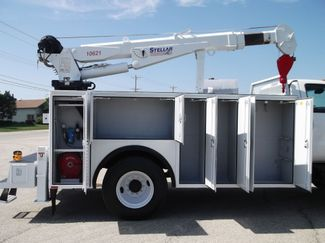 2010 Ford F750 10,000LBS UTILITY SERVICE CRANE TRUCK Lake In The Hills, IL 1