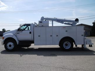 2010 Ford F750 10,000LBS UTILITY SERVICE CRANE TRUCK Lake In The Hills, IL 6