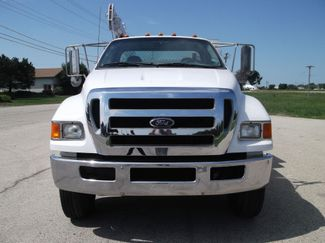 2010 Ford F750 10,000LBS UTILITY SERVICE CRANE TRUCK Lake In The Hills, IL 8
