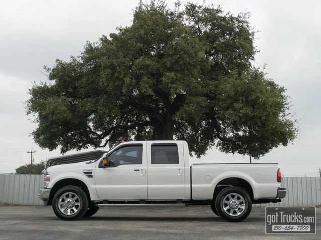 2010 Ford Super Duty F250 Crew Cab Lariat 6.4L Power Stroke Diesel 4X4