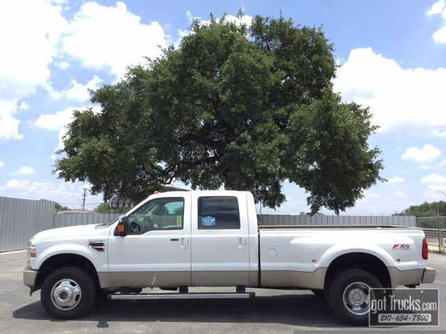 2010 Ford Super Duty F350 DRW Crew Cab King Ranch 6.4L Power Stroke Diesel 4X4