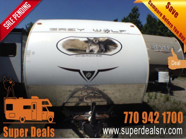 2010 Forest River Grey Wolf 26BH