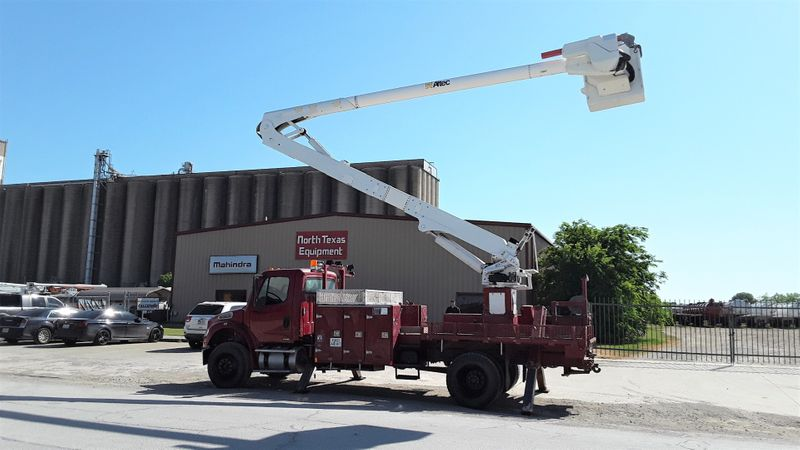 2010 Freightliner BUSINESS M2  6OFT ALTEC MATERIAL HANDLER BUCKET TRUCK  city TX  North Texas Equipment  in Fort Worth, TX