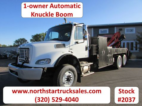 2010 Freightliner M 2 Knuckle Boom Truck  in St Cloud, MN