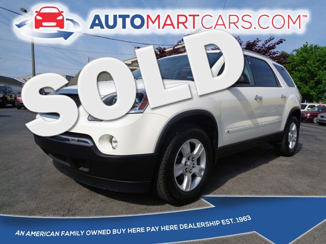 2010 GMC Acadia SLE   Nashville, Tennessee   Auto Mart Used Cars Inc. in Nashville Tennessee