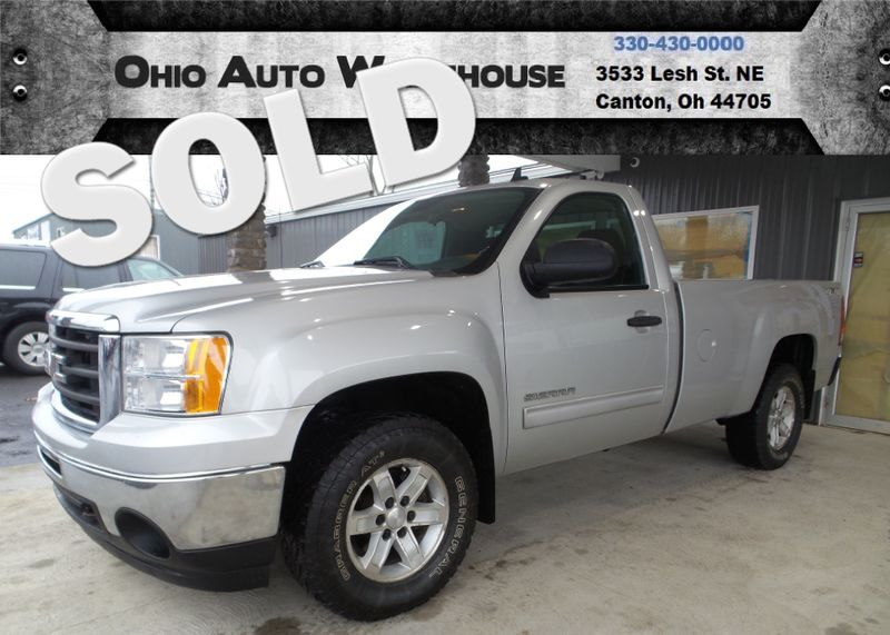 2010 GMC Sierra 1500 SLE 4X4 Long Bed 1-Owner Clean Carfax We Finance | Canton, Ohio | Ohio Auto Warehouse LLC in Canton Ohio