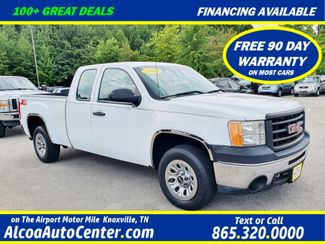 "2010 GMC Sierra 1500 W/T Z85 4X2 4Dr EXT CAB 4.3L V6 w/17"" Wheels in Louisville, TN 37777"