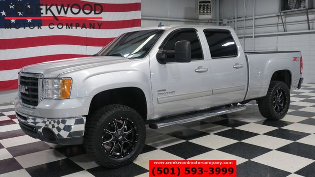 2010 GMC Sierra 2500HD SLT 4x4 Diesel Nav Roof Tv New Tires Blk 20s Lift