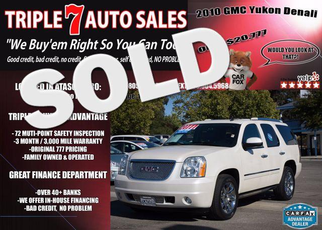 2010 GMC Yukon Denali