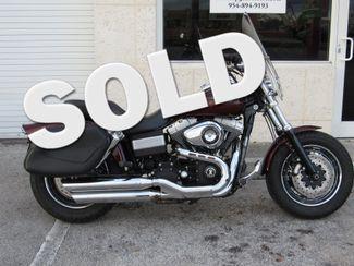2010 Harley Davidson Dyna Glide Fat Bob in Dania Beach Florida, 33004