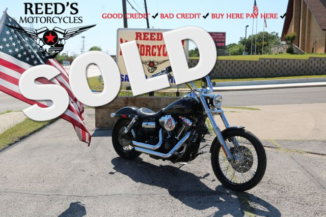 2010 Harley Davidson Dyna -Wide Glide TMU mileage | Hurst, Texas | Reed's Motorcycles in Hurst Texas