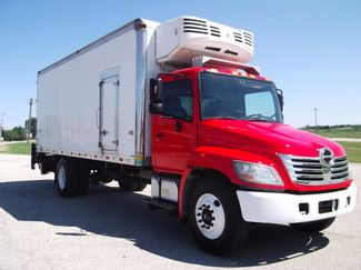 2010 Hino 338 22FT REEFER REFRIGERATOR TRUCK 121K MI Lift Lake In The Hills, IL