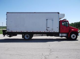2010 Hino 338 Reefer, 22', Thermo King TS, Liftgate, Auto Lake In The Hills, IL 1