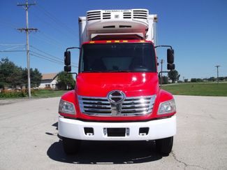 2010 Hino 338 22FT REEFER REFRIGERATOR TRUCK 121K MI Lift Lake In The Hills, IL 7