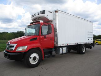 2010 Hino 338 Reefer, 22', Thermo King TS, Liftgate, Auto Lake In The Hills, IL