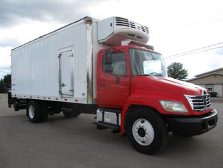 2010 Hino 338 Reefer, 22', Thermo King TS, Liftgate, Auto Lake In The Hills, IL 6