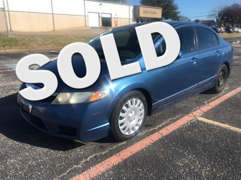 2010 Honda Civic LX | Ft. Worth, TX | Auto World Sales LLC in Ft. Worth TX