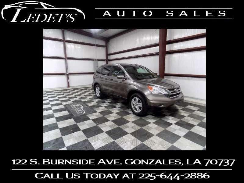 2010 Honda CR-V EX-L - Ledet's Auto Sales Gonzales_state_zip in Gonzales Louisiana
