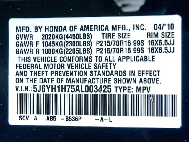 2010 Honda Element EX Burbank, CA 22