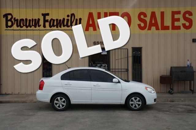 2010 Hyundai Accent 4-Door GLS | Houston, TX | Brown Family Auto Sales in Houston TX
