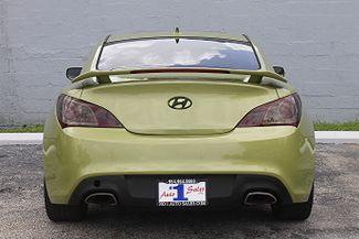 2010 Hyundai Genesis Coupe Track Hollywood, Florida 6