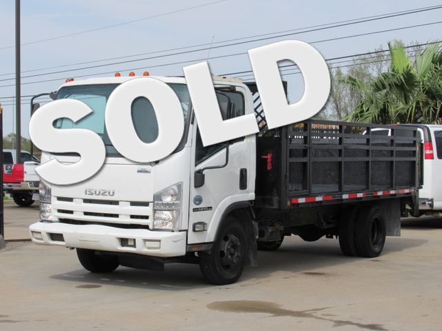 2010 Isuzu NPR HD DSL  WHITE CAB LANDSCAPE TRUCK | Houston, TX | American Auto Centers in Houston TX