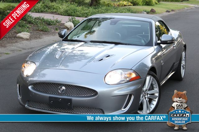 2010 Jaguar XK XKR 62K MLS NAVIGATION 1-OWNER SERVICE RECORDS