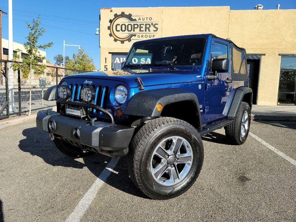 2010 Jeep Wrangler Sport Albuquerque Nm Coopers Auto Group Llc